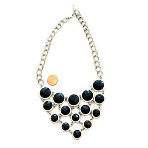Statement necklace by Lia Sophia.